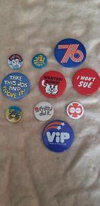 Vintage badges lot