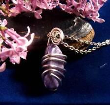 Grape Purple Russian Chaorite Pendant Sterling Silver #42