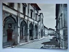 SANSEPOLCRO Palazzo delle Laudi Arezzo vecchia cartolina