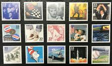 1999 - Scott #3187a-o - Celebrate the Century - 1950s - set of 15 Singles, MNH