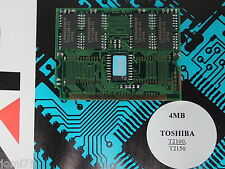 TOSHIBA SATELLITE T 2100 T2150 memory upgrade RAM 4MB Rare card NEW 2023c