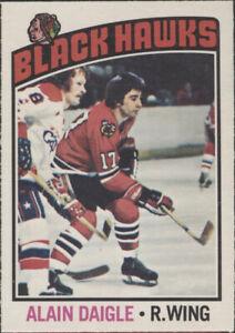 1976/77 OPC - Alain Daigle (Chicago Black Hawks) #156