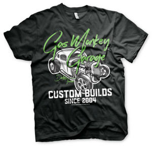 Officially Licensed Gas Monkey Garage Custom Neon Men's T-Shirt S-XXL