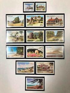 Nevis #121-134 Complete Set 1981 MNH
