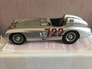 CMC 1:18 Mercedes Benz 300 SLR Mille Miglia Sieger 1955