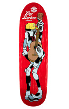 Ray Barbee & Sean Cliver Rag Doll Guitar 8.8 Shaped Element Skateboards Deck