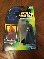 Darth Vader Lightsaber & Cape Star Wars The Power of The Force Action Figure MOC