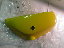 Suzuki TS185 nos L/H side cover in yellow 1976
