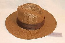 Jennifer Lopez JLo Collection Brown Fedora Hat