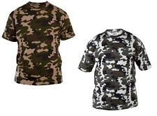 Mens Duke King Size T shirts Casual Hunting Fishing Camo Printed Tee Cotton