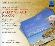 Strauss: Der Burger als Edelmann; Ariadne auf Naxos (3 Discs Fatbox, Virgin) NEW
