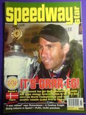 SPEEDWAY STAR - GREG HANCOCK - 9 Sept 2000