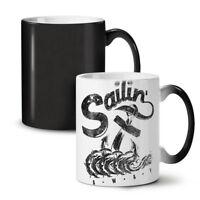 Sailing Navy Sea NEW Colour Changing Tea Coffee Mug 11 oz | Wellcoda