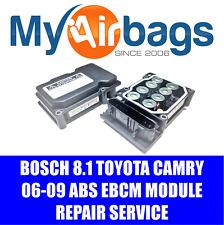 FITS 2007 TOYOTA CAMRY ABS MODULE REPAIR REBUILD SERVICE BOSCH 8.1 4405033240
