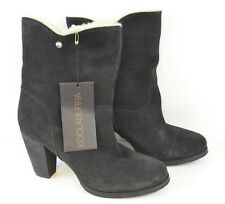 New Women's Size 9 Koolaburra By UGG Hig Heels Boot Sheep Skin Boots