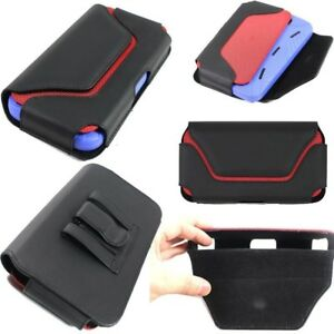 Leather Belt Pouch Clip Holster Cover for BLU Studio 6.0 HD (Fit with Case On)
