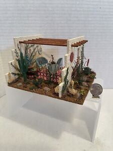 Vintage Artisan GALE Beautiful Southwestern Santa Fe Patio Room Box 1:48?