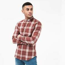 Crosshatch - Men's 'Hilmas' Shirt with Long Sleeve Check Shirt - 3 Colours