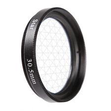 Universal 30.5mm 8PT 8 Cross Estrella Efecto Filtro Objetivo Ocho