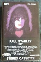 KISS Paul Stanley Solo CASSETTE
