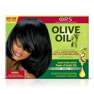 Organic Roots Stimulator (ORS) Olive Oil Hair Relaxer No Lye - NORMAL All in ONE