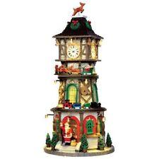 Lemax 2016 Christmas Clock Tower #45735 NIB FREE SHIPPING 48 STATES