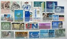 23 Briefmarken Motiv Vereinten Nationen