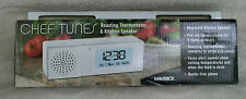 Maverick Chef Tunes™ Bluetooth® Speaker and Roasting Thermometer ~ New