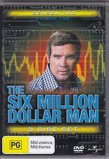 The Six Million Dollar Man - Season Two Volume Two - DVD (Brand New Sealed)