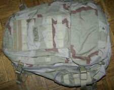 CAMELBAK BACKPACK, MODEL B.F.M., TRI-DESERT CAMO, U.S. ISSUE *NICE*