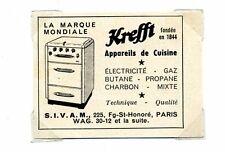 1950 / Publicité pour Krefft – Appareil de cuisine / LD88