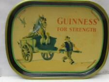 More details for vintage 1960 guinness for strength horse dray tray #1  - buy it now