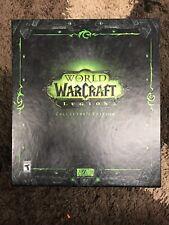 BLIZZARD World of Warcraft: LEGION COLLECTORS EDITION Windows/Mac, 2016) NO GAME