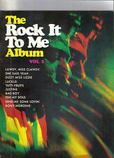 The Rock It To Me Album vol 2 music book with notes and pictures