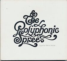 """THE POLYPHONIC SPREE, TOGETHER WE""""RE HEAVY,GOOD RECORDS, 2004, NEAR MINT"""