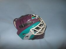 NHL Hockey Anaheim Mighty Ducks Miniature Helmet J S Giguere #35 Autograph