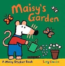 Maisy's Garden A Sticker Book by Lucy Cousins BRAND NEW BOOK (Paperback)