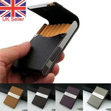 Pocket Tobacco Box Case PU Leather Slim Cigarette Roll Up Holder