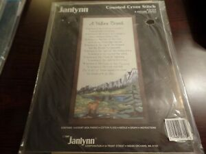 Janlynn Counted Cross Stitch 310 A Nature Creed #4185