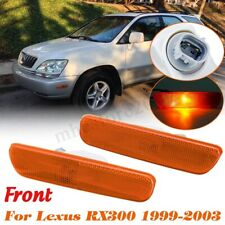 Pair Front  Bumper Side Marker Corner Light Assembly For Lexus RX300