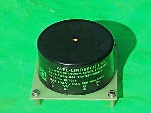Avel Lindberg 0-9 0-9 15VA Toroidal Mains Power Transformer 40/3331