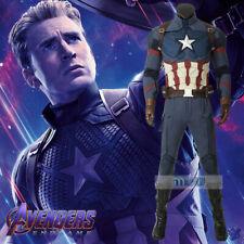Avengers 4 Endgame Steven Rogers Captain America Cosplay Kostüm Costume Shoe