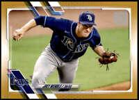 Joey Wendle 2021 Topps 5x7 Gold #296 /10 Rays