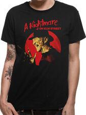 Freddy Krueger Pose Official Nightmare on Elm Street Black Men T-shirt