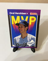 Donruss 1989 Orel Hershiser MVP - LOS ANGELES DODGERS - Card #BC-4