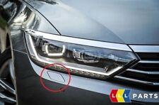 NEW GENUINE VW PASSAT 15-16 HEADLIGHT WASHER CAP PRIMED RIGHT O/S 3G0807938GRU