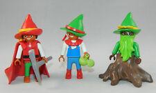 Playmobil Schloss Märchen Magic 3 x Zwerg Wichtel 4056 5142 4250 #39845