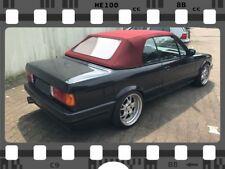 BMW E30 Cabrio Verdeck Cabrioverdeck Neu! Sonnenlandstoff in rot TOP QUALITÄT!