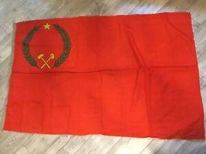 Super Rare !!!! Democracy republic Kongo USSR Flag Fleet Original Wool Soviet