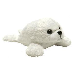 "Hug'ems HARP SEAL PUP Hugems soft plush toy 7""/17cm Wild Republic NEW"